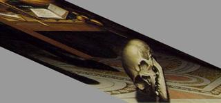 Holbein, The Ambassadors, Skull